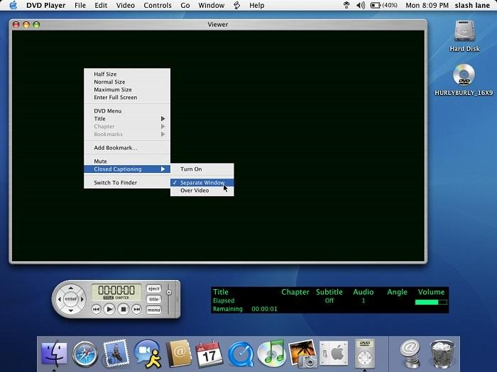 DVD player for Mac